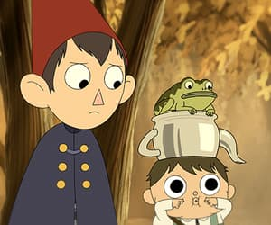 over the garden wall and cartoon image
