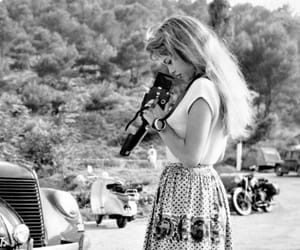 brigitte bardot, actress, and black and white image
