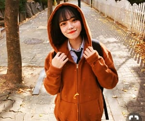aesthetic, korean girl, and icons image