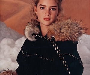 brooke shields and vintage image