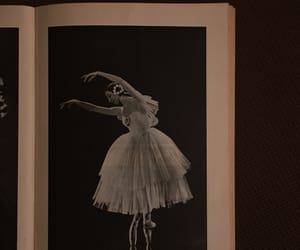 ballerina, ballet, and music image