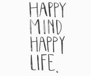 life, happy life, and happy mind image