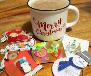 cards, chocolate, and cocoa image