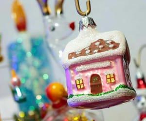 christmas, house, and ornamental image
