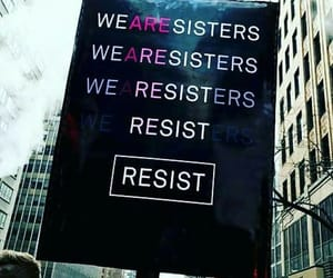feminism, protest, and resist image