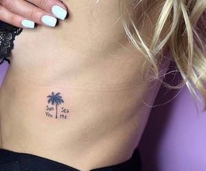 palms, sea, and summer image
