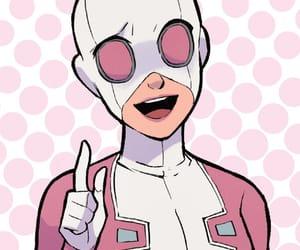 comics, Marvel, and pink image