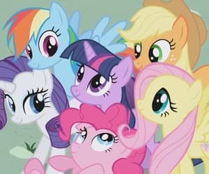 my little pony, cartoon, and friendship image
