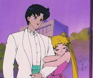sailor moon and love image