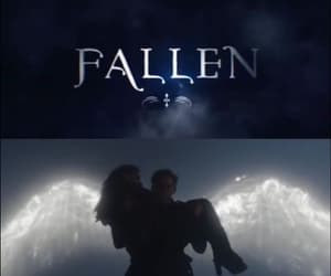 angel, fallen, and wings image