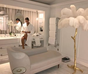 bathroom, inspiration, and luxury image