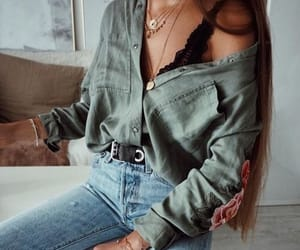 girl, lookbook, and piece image