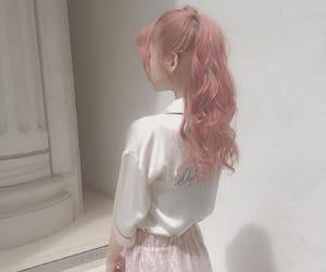art, kfashion, and pastel hair image