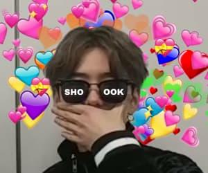 shook, coraçãozinho, and heart emoji image