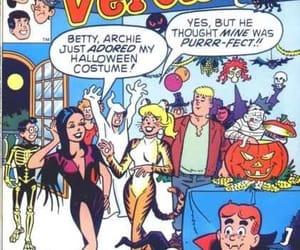comics, Halloween, and betty and veronica image