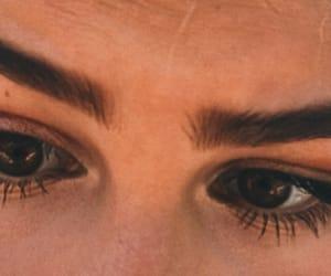 90s, eyes, and fashion image