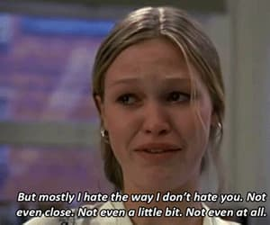 10 things i hate about you, gif, and iconic image