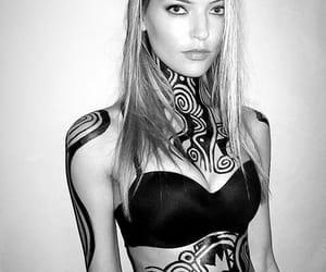 art, model, and tribal image