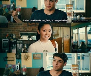 funny, to all the boys, and noah centineo image