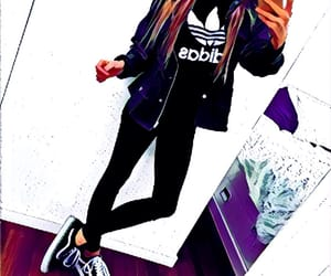 adidas, daily, and mirror image