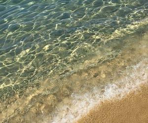 beach, vague, and Sardinia image