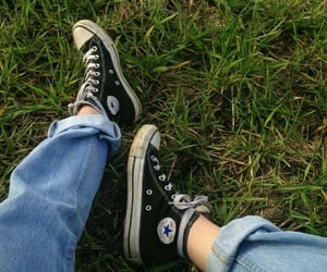 converse, grunge, and photography image