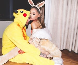 ariana grande, mac miller, and arianagrande image