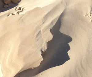 sand, nature, and aesthetic image