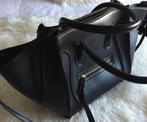 accessories, fashion, and black bag image