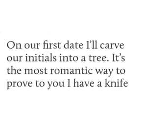 couples, date, and knife image