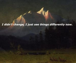 quotes, change, and mountains image