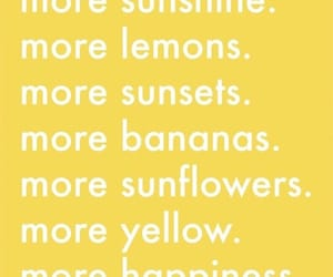 yellow, aesthetic, and words image