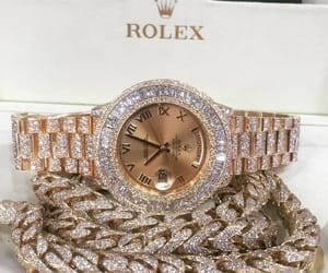 jewelry, rolex, and watch image