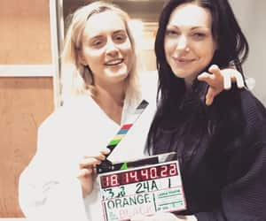orange is the new black, vauseman, and laura prepon image