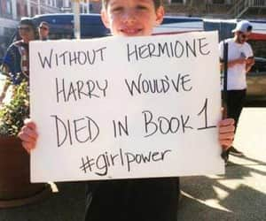 harry potter, quotes, and hermione image