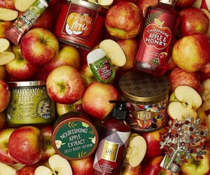 apple, autumn, and candle image