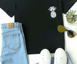 clothes, outfit, and pineapple image