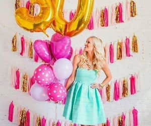 balloons, dresses, and tumblr image