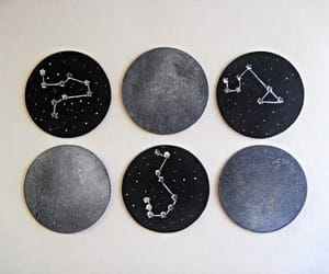 aesthetic, constellations, and astronomy image