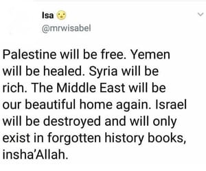 muslim and palestine image