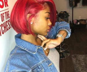 hair, red, and amour jayda image