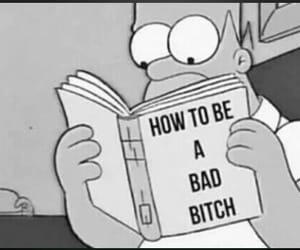 bitch, simpsons, and bad image