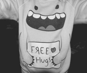 free hugs, hugs, and peace image