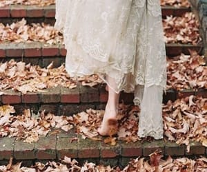 autumn, dress, and fall image