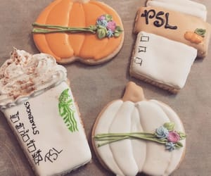 autumn, Cookies, and pumpkin image