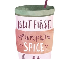 coffee, pumpkin, and pumpkin spice latte image