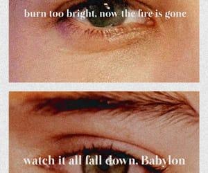 Babylon, blue, and eyes image
