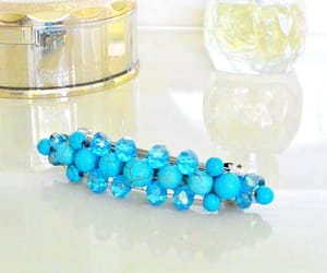 etsy, turquoise jewelry, and hair barrette image