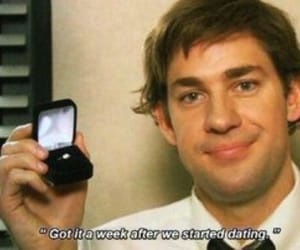 the office, jim halpert, and john krasinski image