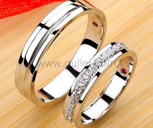 diamond, diamond ring, and wedding ring image